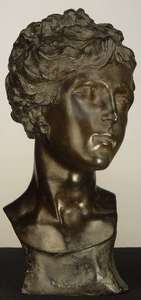 Edgardo G.F. SIMONE - Skulptur Volumen - Female Bust