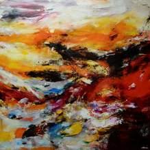 CHHOUR Kaloon - Pintura - Untitled ref.HK1236