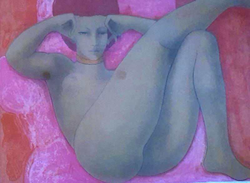 Alain BONNEFOIT - Print-Multiple - Femme Nu