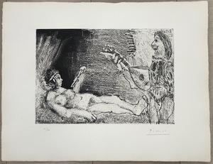 Pablo PICASSO - Print-Multiple - Le cocu magnifique