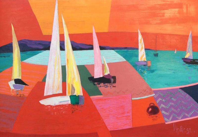 Jean-Pierre MALTESE - Painting - La grande course