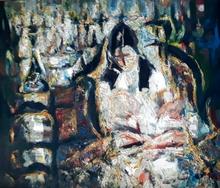 Yitzhak FRENKEL-FRENEL - Peinture - Motherhood