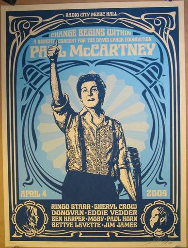 Shepard FAIREY - Druckgrafik-Multiple - Paul Mc Cartney
