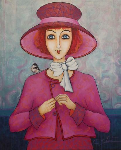 Véronique CLANET - Painting - Miss Charlotte