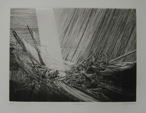 Jean-Pierre TINGAUD - 版画 - GRAVURE 85 SIGNÉE AU CRAYON NUM/100 HANDSIGNED NUMB ETCHING