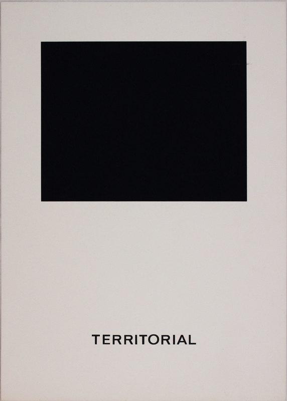 Vincenzo AGNETTI - Print-Multiple - Territorial from 'Spazio perduto e spazio costruito'