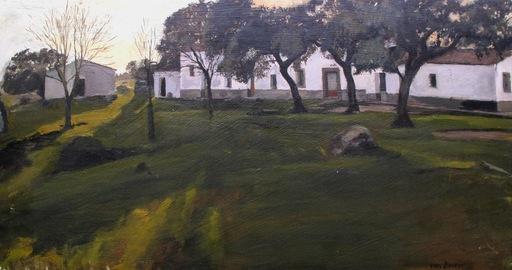 Darya VAN BERNER - Pintura - Casa de la caballería