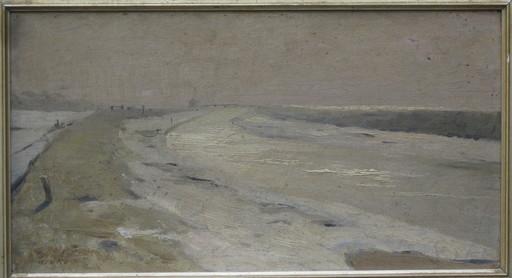 Wilhelm OTTO - Painting - Landschaft an der Nordsee