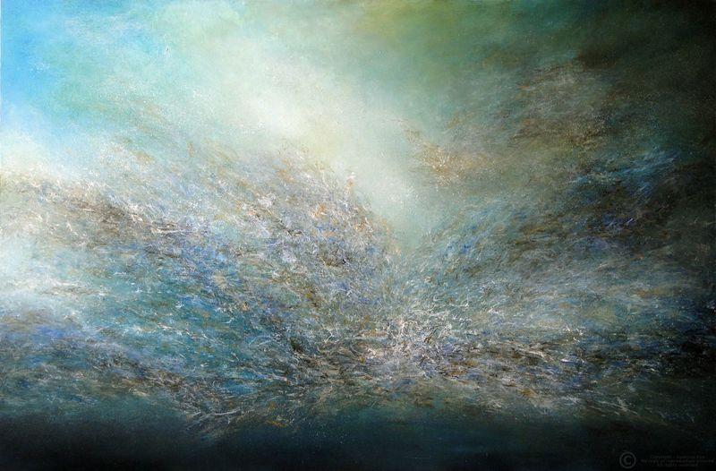 COSMINA - Painting - Untitled ref. US36
