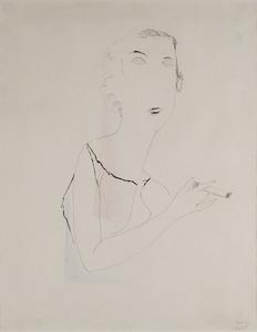 Joseph SIMA, Femme à la cigarette