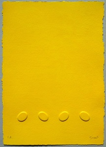 Turi SIMETI - Print-Multiple - Quattro ovali gialli