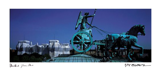 克里斯托 - 照片 - Reichstag Quadriga