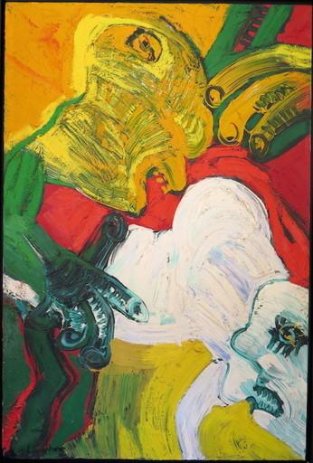 Bengt LINDSTRÖM - Painting - La belle et la bête