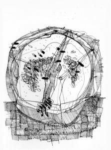 Mattia MORENI - Drawing-Watercolor - Anguria (Le calbane vecchie)