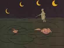 Valerio ADAMI - Print-Multiple - Petit clair de lune