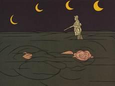 Valerio ADAMI - Grabado - Petit clair de lune