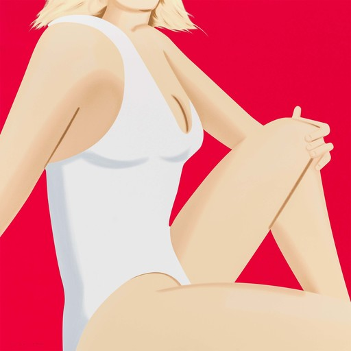 Alex KATZ - Grabado - Coca Cola Girl 7 (Portfolio of 9)