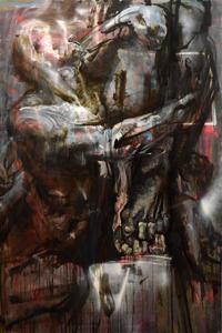 """Evgeniya MALTSEVA - Painting - """"Brutality # 3"""""""