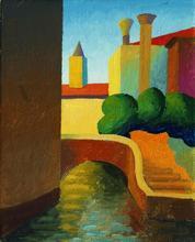 SALVO - Peinture - Venezia
