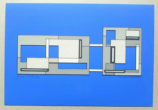 Mario RADICE - Druckgrafik-Multiple - Composizione Tav. 7