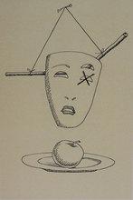 MAN RAY - Grabado - Untitled from 'Les six masques voyant' portfolio
