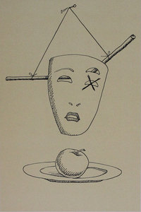 MAN RAY - Print-Multiple - Untitled from 'Les six masques voyant' portfolio