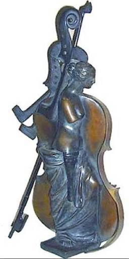 Fernandez ARMAN - Scultura Volume - Michelangelo