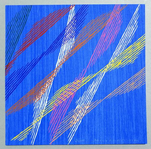 Piero DORAZIO - Estampe-Multiple - Composizione A