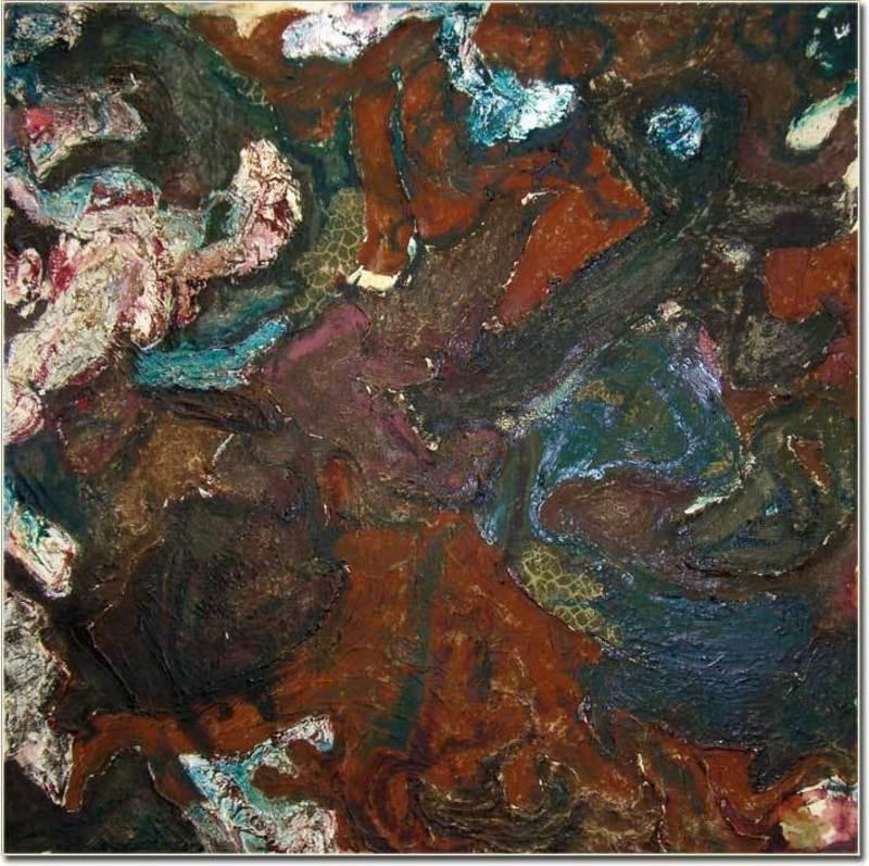 Mariella SIMONI - Peinture - Medulla II