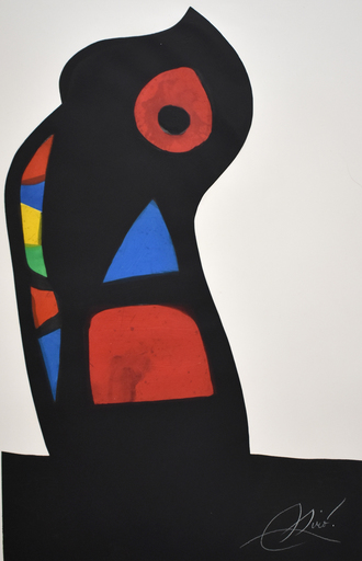 Joan MIRO - Estampe-Multiple - The Ustashi | L'Oustachi