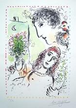 "Marc CHAGALL (1887-1985) - ""Tendresse"", (Mourlot 1020)"