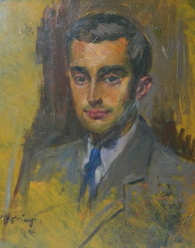 Edmund PICK-MORINO - 绘画 - PORTRAIT - HOMME - RITRATTO