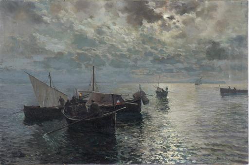 Attilio PRATELLA - Painting - Senza titolo