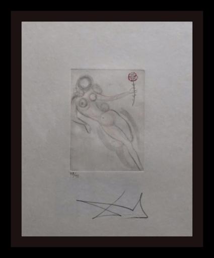 Salvador DALI - Grabado - Petites Nus (Ronsard) H