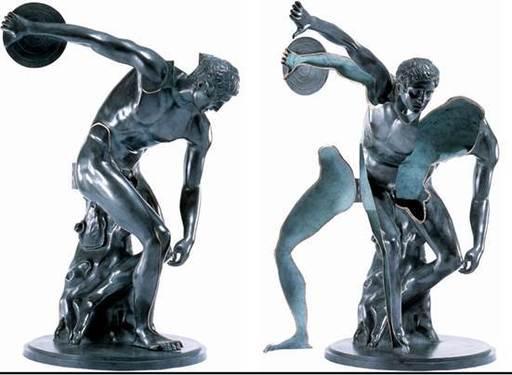 Fernandez ARMAN - Sculpture-Volume - Le Grand Discobole