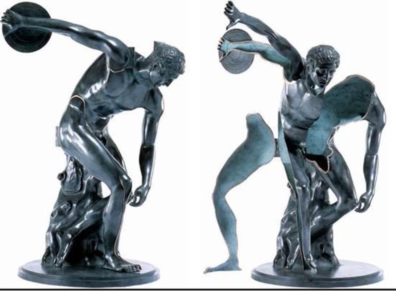 Fernandez ARMAN - Escultura - Le Grand Discobole