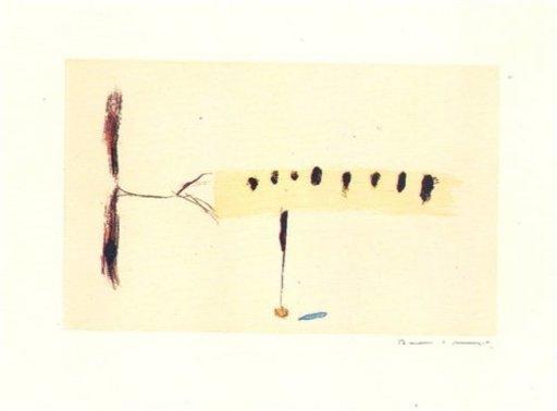 Joseph RIERA I ARAGO - Grabado - Avió mig-4