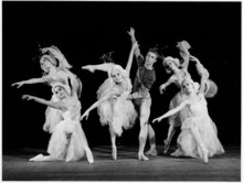 Serge LIDO - Photo - Les Eléments HARNESS BALLET