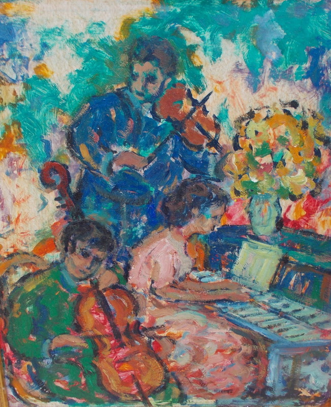 Nathan GUTMAN - Pittura - L'orchestre