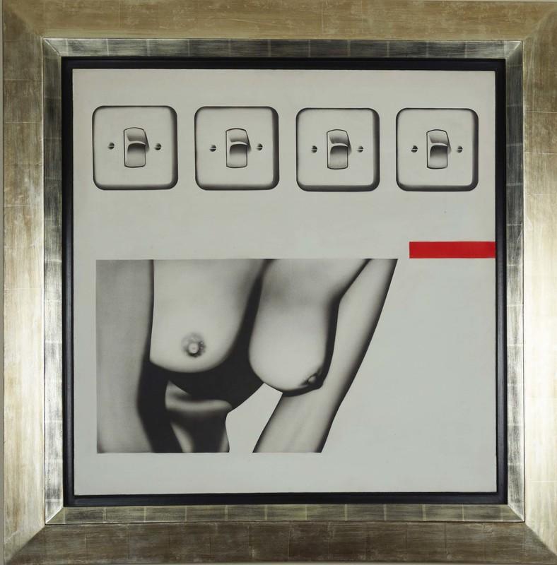 Peter KLASEN - 绘画 - Vehicule Des Souvenirs