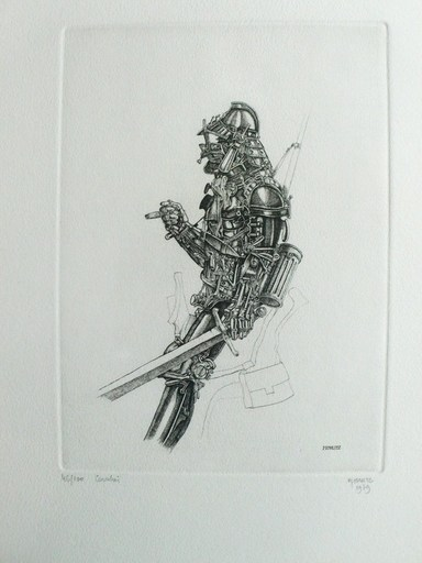 Philippe MOHLITZ - Stampa Multiplo - Cavalier