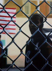 Nathalie BIBOUGOU - Painting - « Playground »