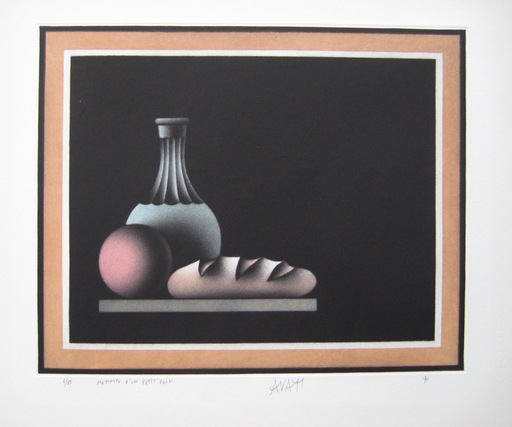 Mario AVATI - Druckgrafik-Multiple - GRAVURE 1976 SIGNÉE AU CRAYON NUM/85 HANDSIGNED NUMB ETCHING
