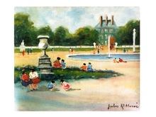 Jules René HERVÉ - Peinture - *Dimanche Apres Midi