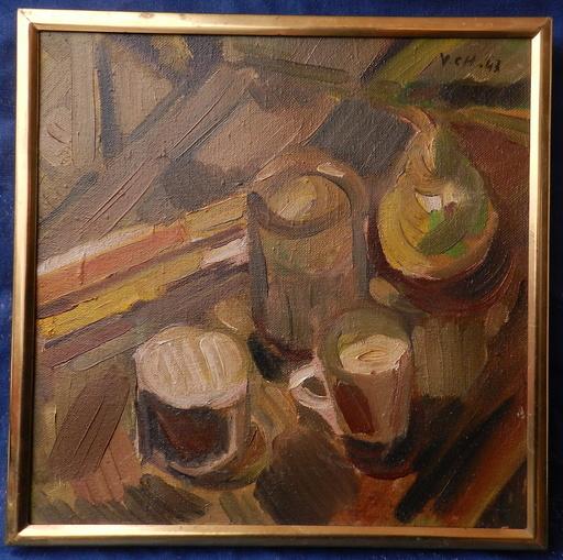 Viliam CHMEL - Painting - Still