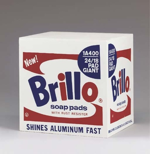 Andy WARHOL - Escultura - Brillo Box - Stockholm Type 1968/1990