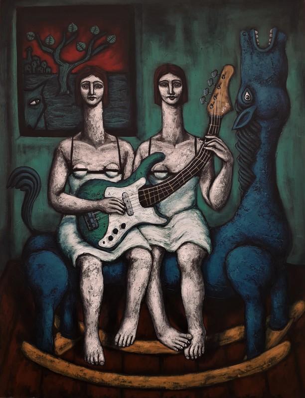 Nicolas MONJO - Pintura - Sororité