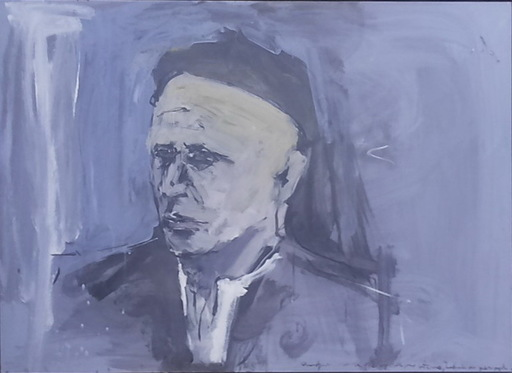 Carlos PARDO TEIXEIRO - Gemälde - EL CURANDERO PICHON DE LARIN