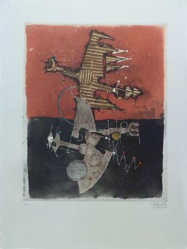 Johnny FRIEDLAENDER - Print-Multiple - Oiseaux