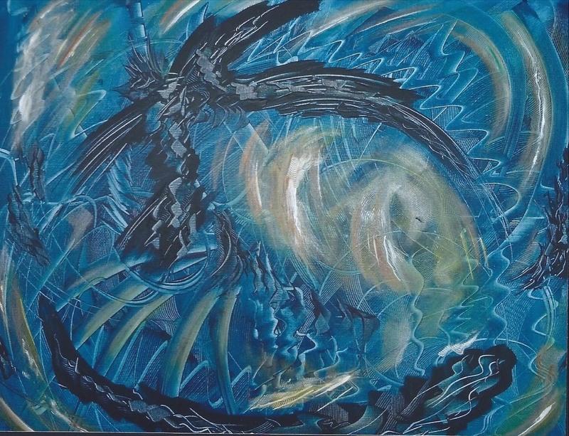 Didier ANGELS - Pintura - Fonds marins
